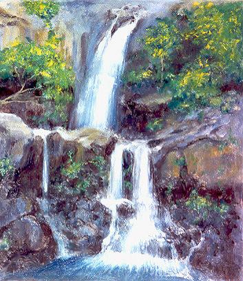 """""""Kauai Waterfall"""" - Kauai, Hawaii"""