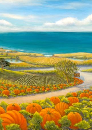 """""""Pumpkins by the Sea"""" - Half Moon Bay"""