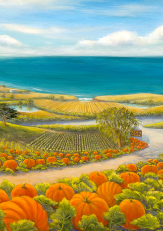 """Pumpkins by the Sea"" - Half Moon Bay"