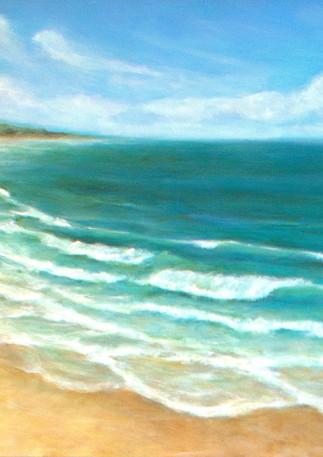 """Surfers Beach"" (Left) - Half Moon Bay"