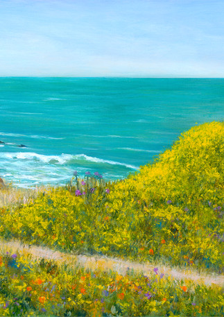 """Poplar Beach Flowers"" - Half Moon Bay"