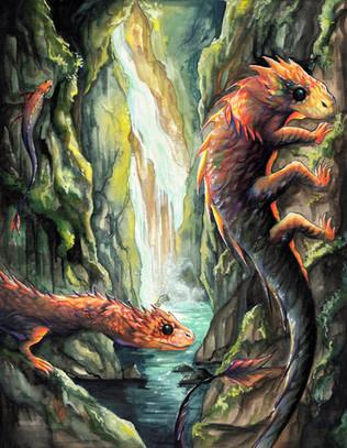 Cliffdiver Dragons