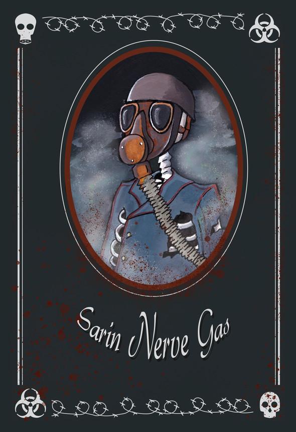 Sarin Nerve Gas