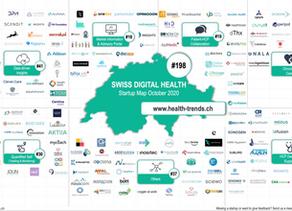 Wir sind in der Swiss Digital Health Startup Map