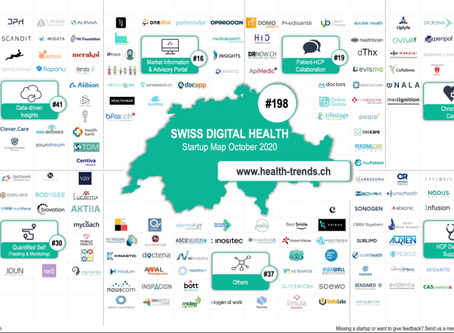 Wir sind in der Swiss Digital Health Startup Map