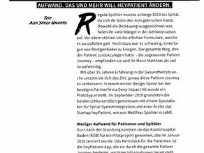 Das Startup Magazin berichtet über heyPatient