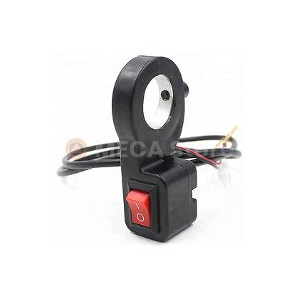 Interrupteur déporté guidon 22mm O/I
