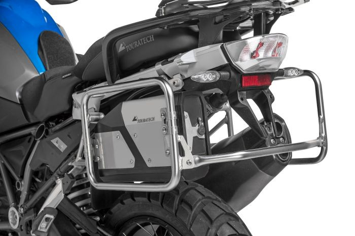 Boite outils Touratech sur R1200 GS BMW