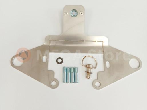 Notice d'installation Platine rapide pour  boite à gants- KTM 950 Adventure- KTM 990 Adventure