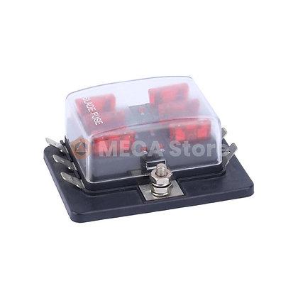 Boîtier électrique pour fusibles 6 slots