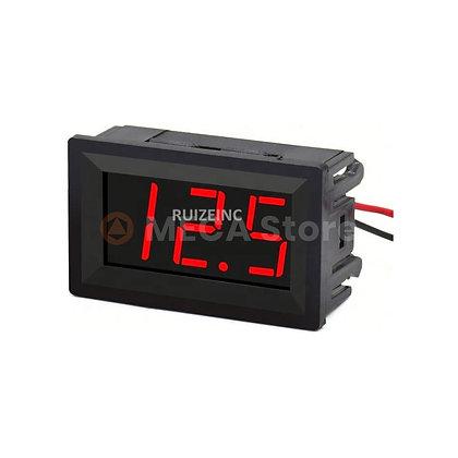 Voltmètre digital encastrable