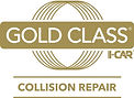 I-Car Gold Class Collision Repair Logo