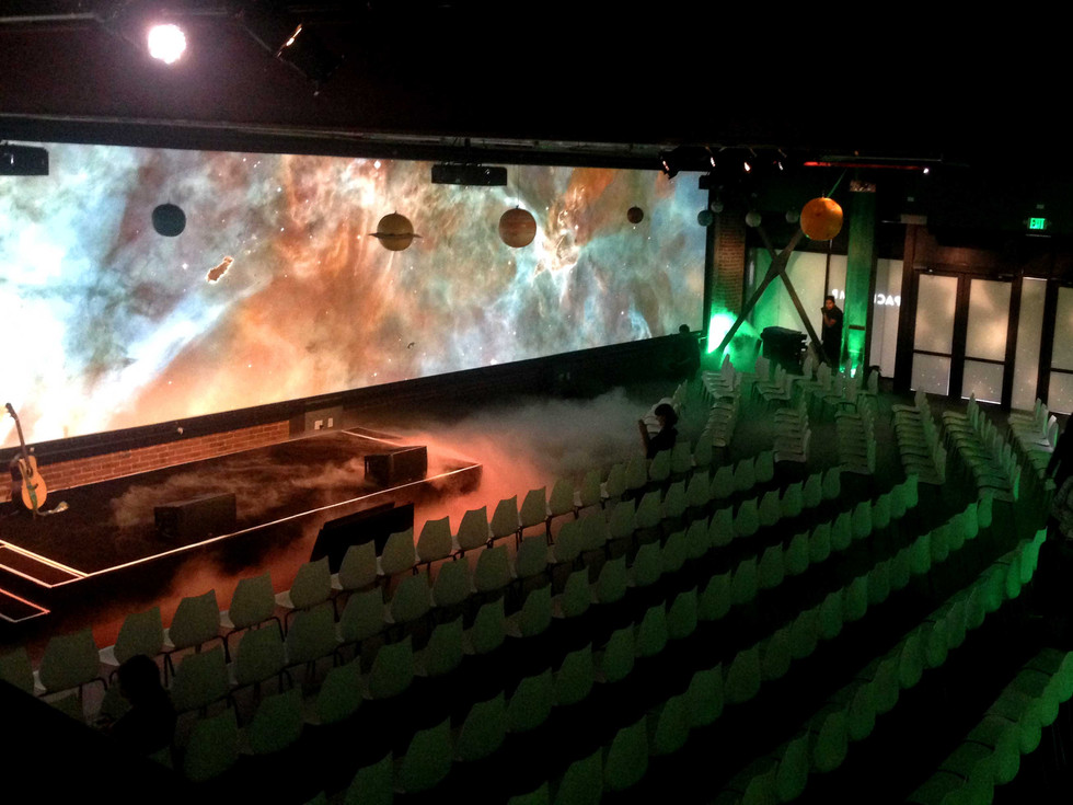 75ft Panoramic Projection Wall