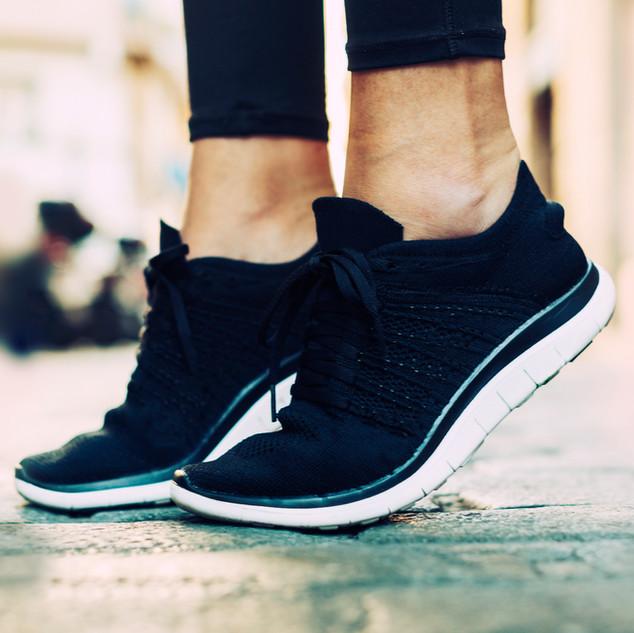 Black Gym Shoes