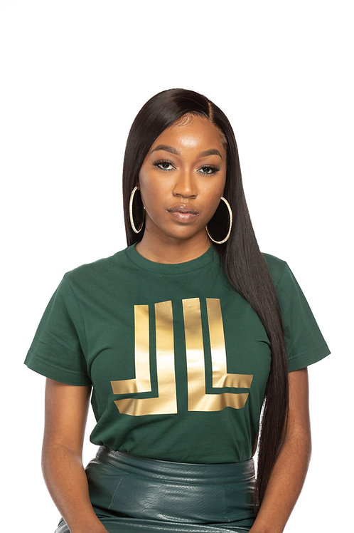 Green & Gold Logo Unisex T-Shirt