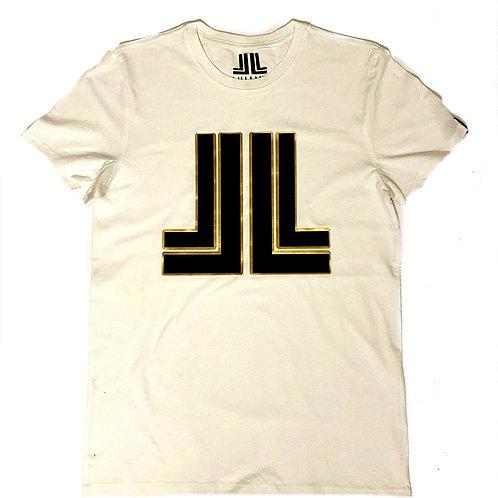 White Liu Lux Logo Unisex T-Shirt