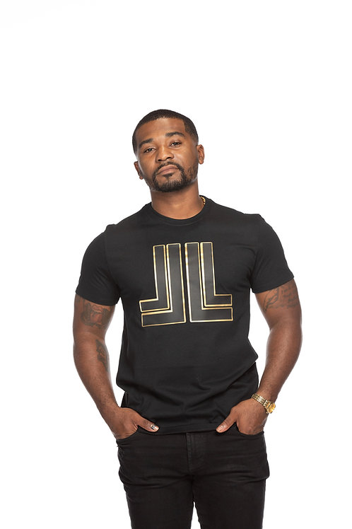 Black on Black Liu Lux Unisex T-Shirt