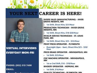 Brand New Hot Jobs