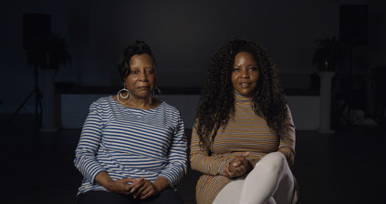Constance and Sonya (Daughter and Granddaughter of Opal Jackson)
