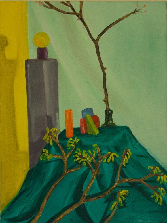 Colorful still-life