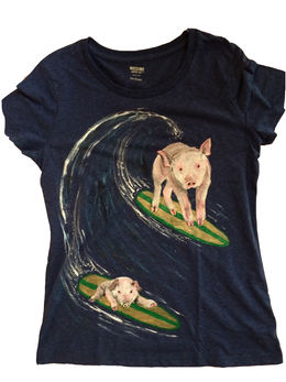Surfing Pigs