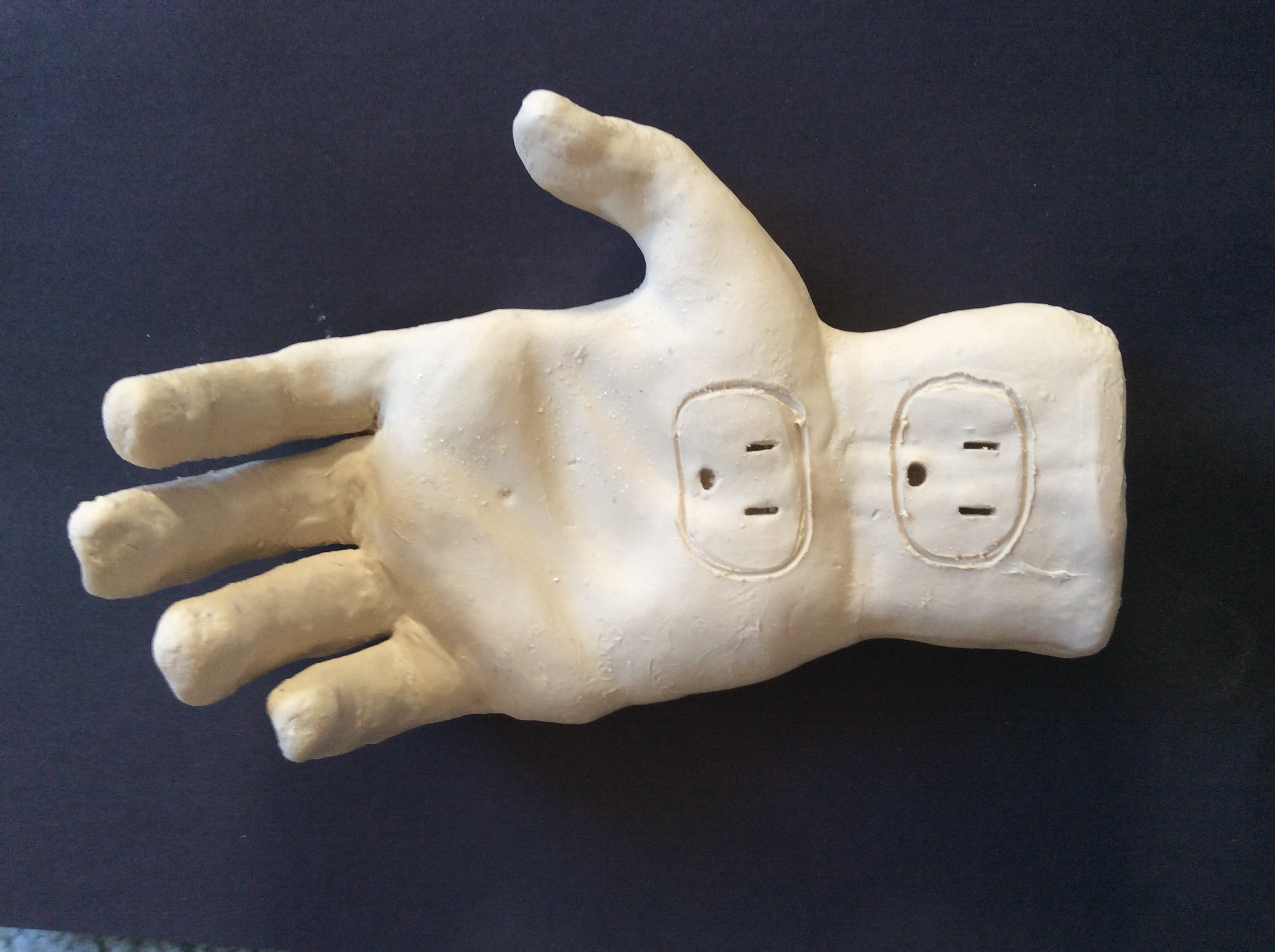 "Physical sculptural representation of ""digit"""