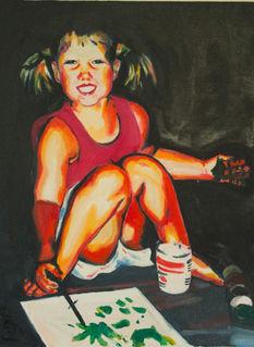 Self-Portrait (Colorful)
