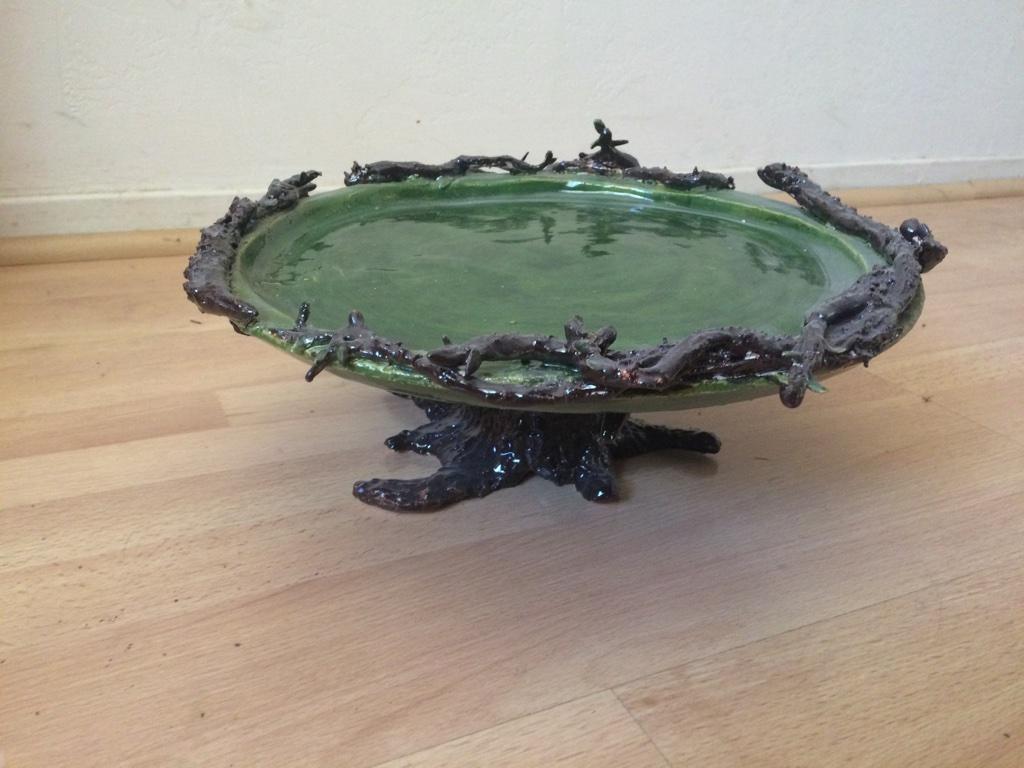 Tree cake platter