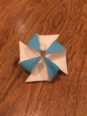 pinwheel spinning top
