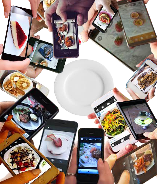 Social media food photo craze