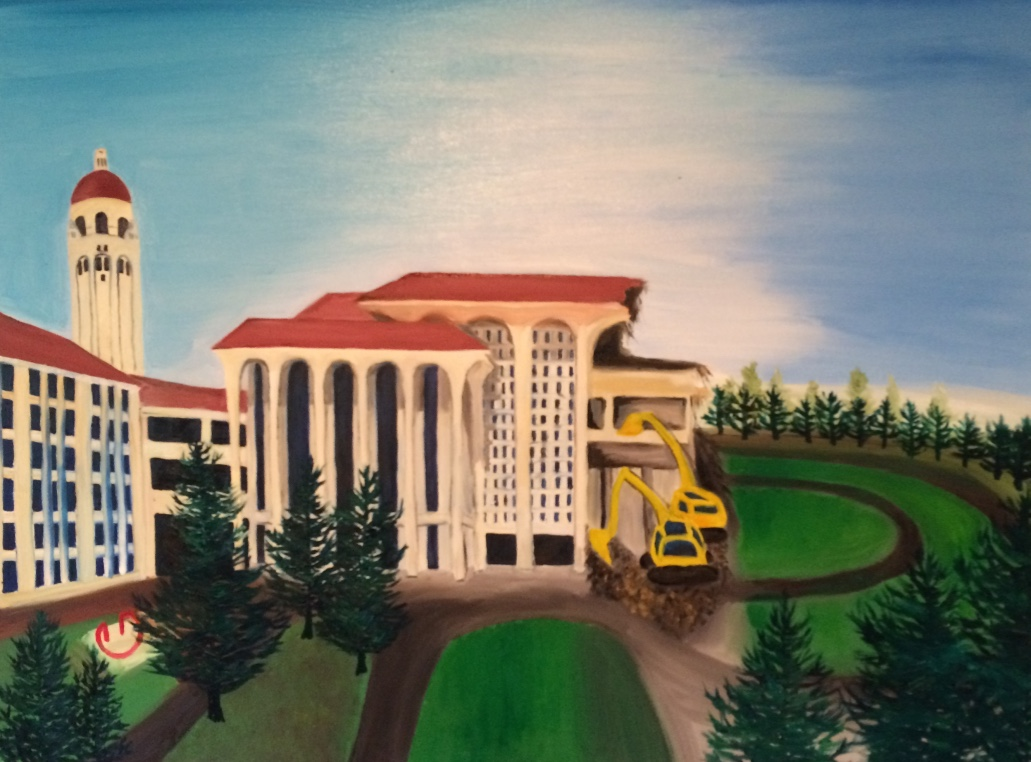 Memories of Meyer library (Stanford)