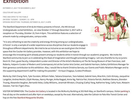 Stanford Undergraduate Juried Exhibition