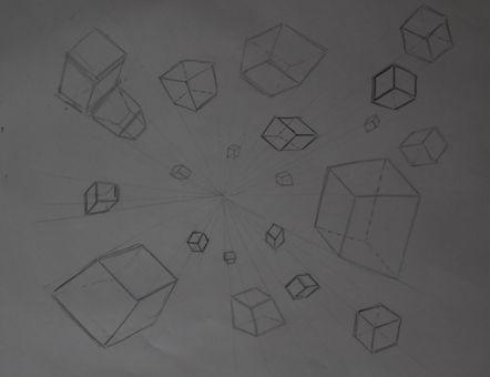 Exploding Cubes