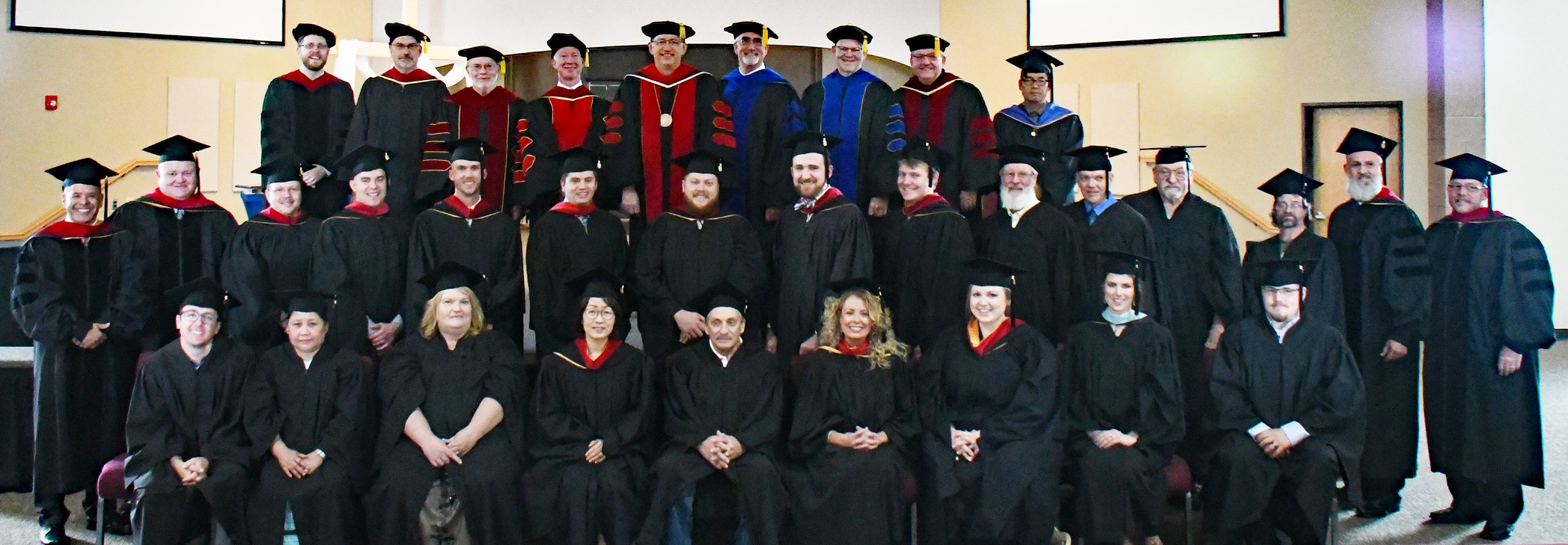 The Gateway Seminary Rocky Mountain Campus graduating class of 2018.
