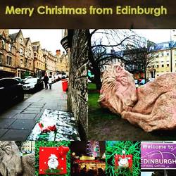 Merry Christmas from Edinburgh! Festive