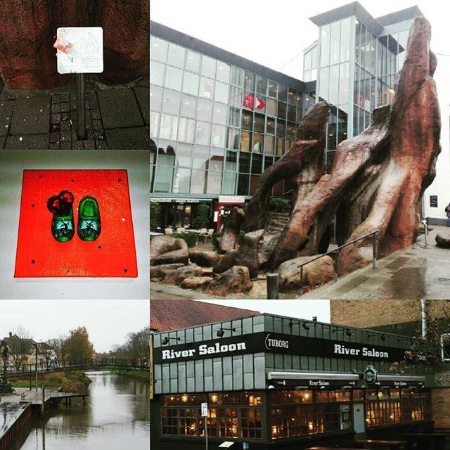 Wát een leuk stadje, Holstebro, in Denem