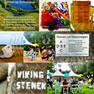 Tussen de Noorweegse Vikingstenen op Schokland...