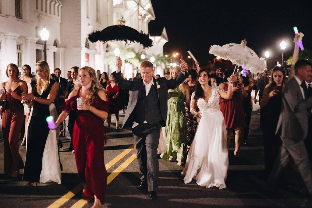 Wedding Second Line - Mobile, AL