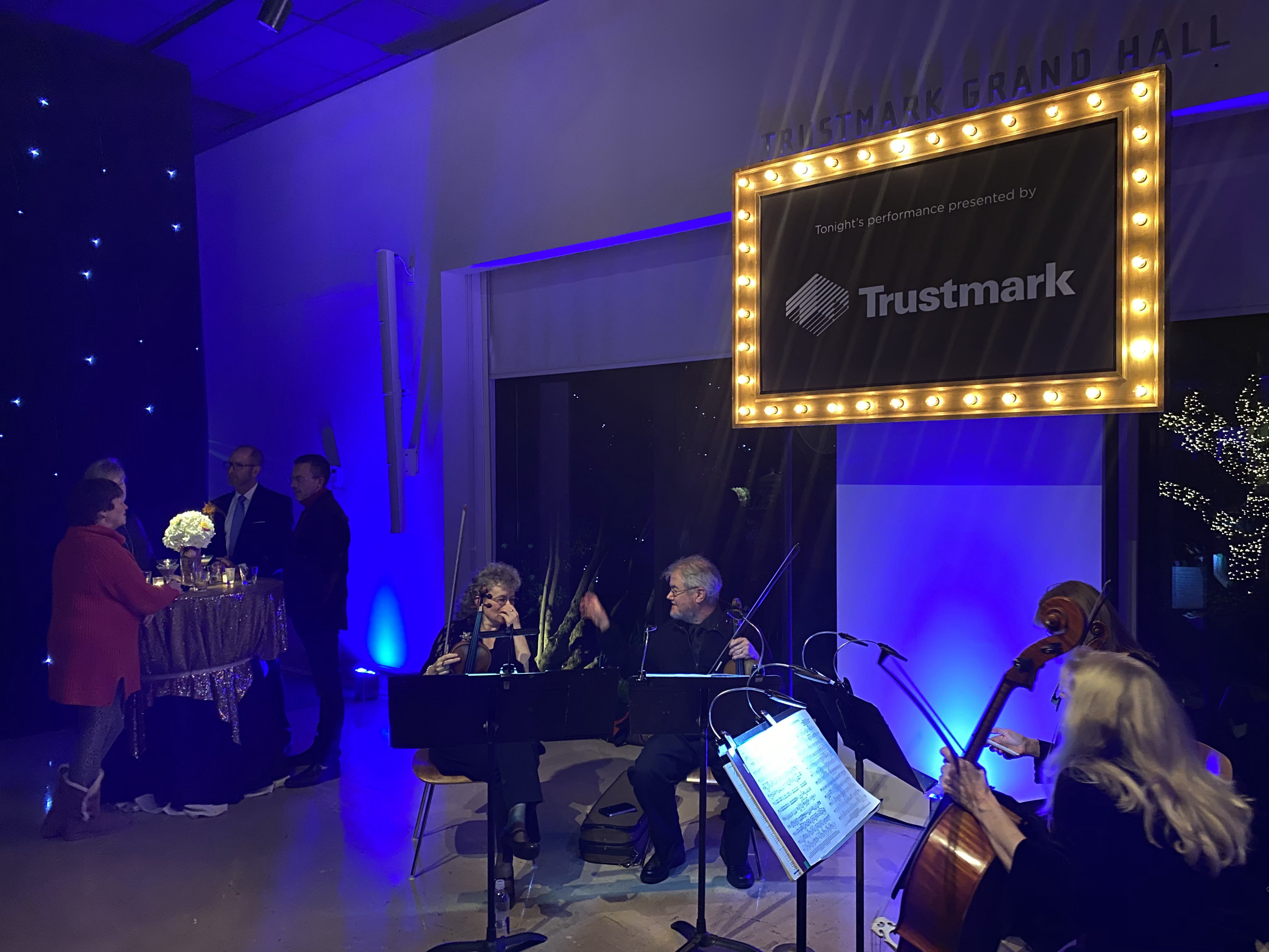Live Music at Trustmark Customer Party