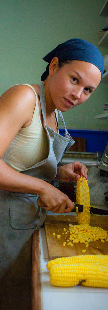 Joan and the corns