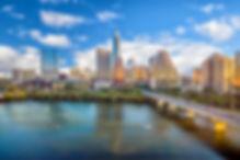 Downtown Skyline of Austin, Texas in USA