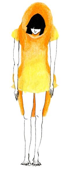 Costume d'Absent 2: Le Bossu, face