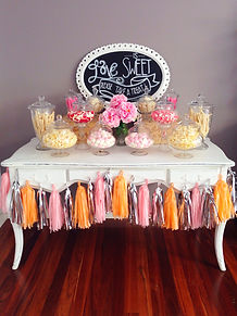 lolly bar hire