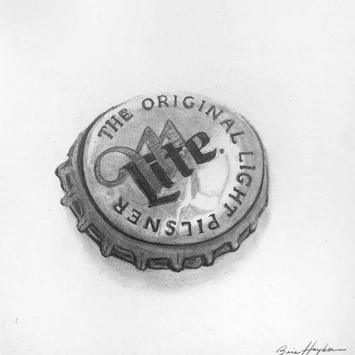 Miller Lite Bottle Cap