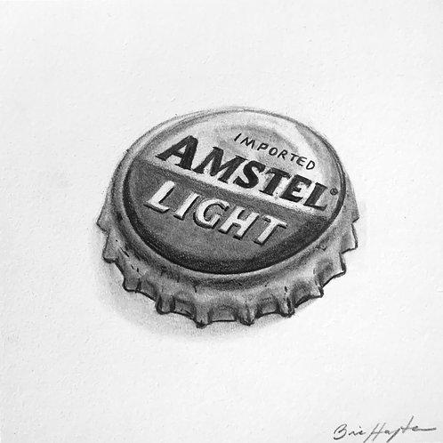 Amstel Light Bottle Cap