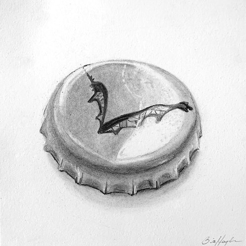Flying Dog Bottle Cap