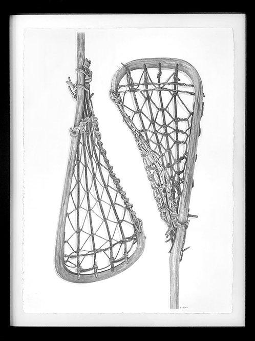 Wooden Lacrosse Sticks