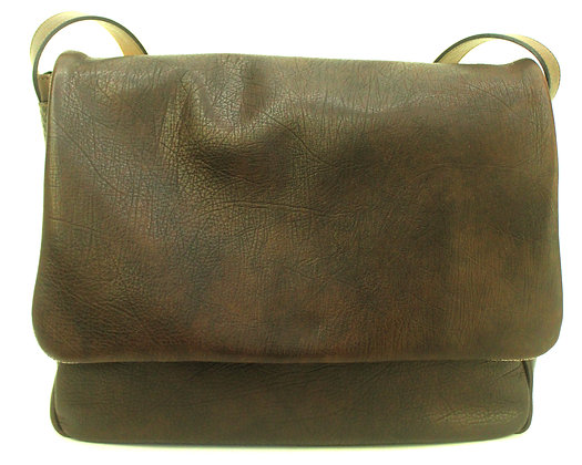 Large Satchel Brown