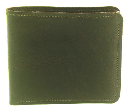 Men's Wallet Brown with coin compartment