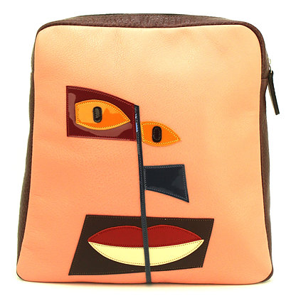 Backpack Salmon Face